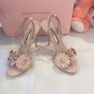 NIB!  SOPHIA WEBSTER NUDE LILCO SANDALS SIZE:  37